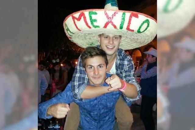 Als Student in Mexiko