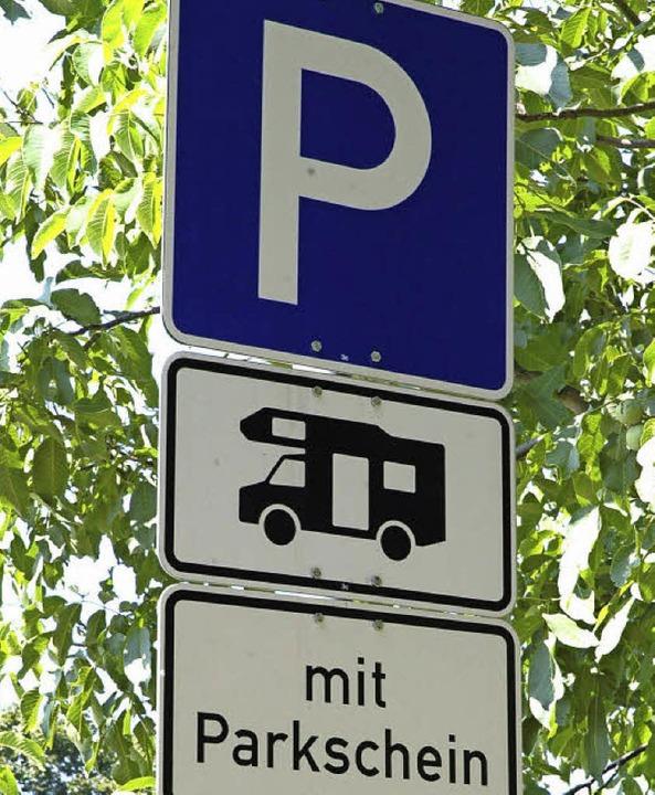 In Offenburg noch Mangelware: Stellplä... Besucher, die im Wohnmobil anreisen.   | Foto: Sasse