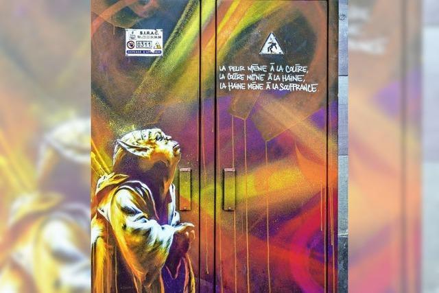 Street Art wird zur offiziellen Kunst