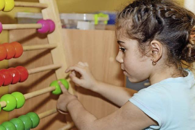 Rechenspiele zur Kinderbetreuung