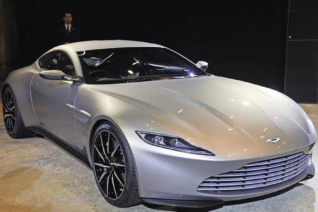 Auto aus James-Bond-Film wird für 3,1 Millionen Euro versteigert