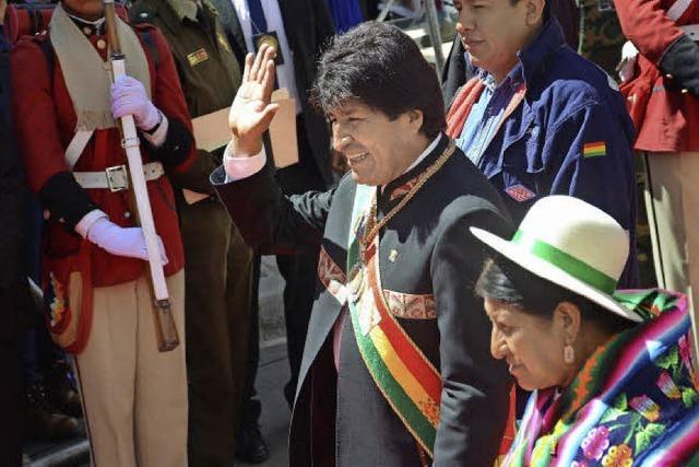 Es wird eng für Evo Morales
