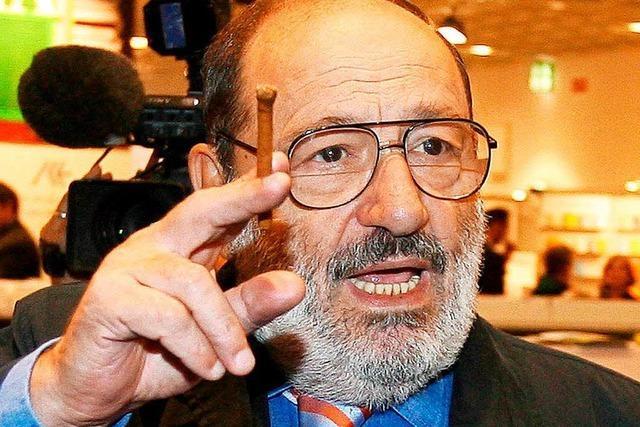 Italienischer Schriftsteller Umberto Eco gestorben