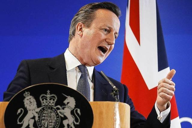 EU-Gipfel einigt sich auf Sonderrechte für Großbritannien