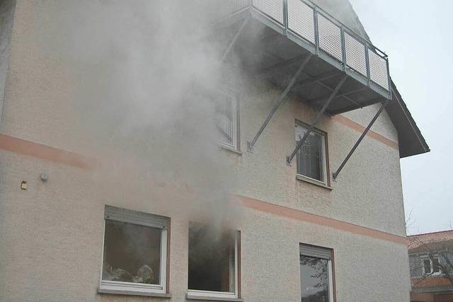 Wohnungsbrand rasch unter Kontrolle