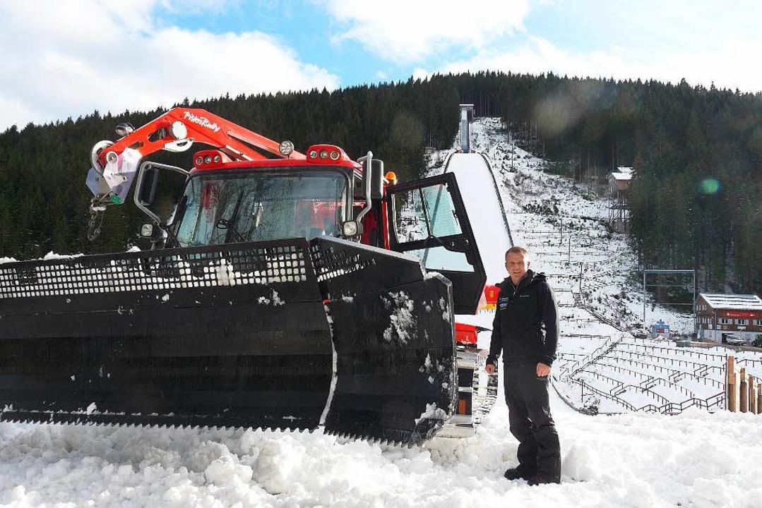 Schiesst Titisee Neustadt Erneut Einen Schwarzwald Gletscher Wintersport Badische Zeitung
