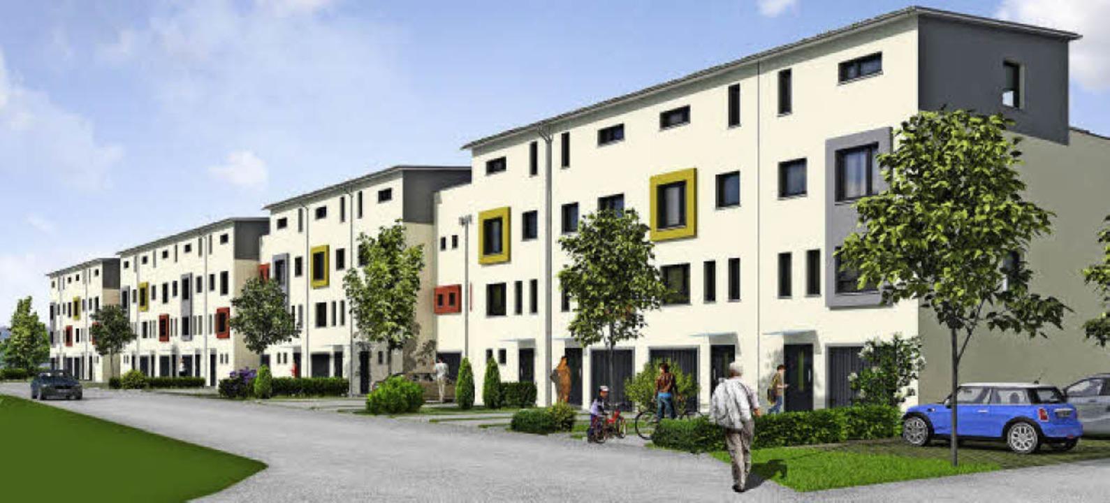 Vorschlag Wohnbebauung Weiermatten Schallstadt  | Foto: Firma Weisenburger