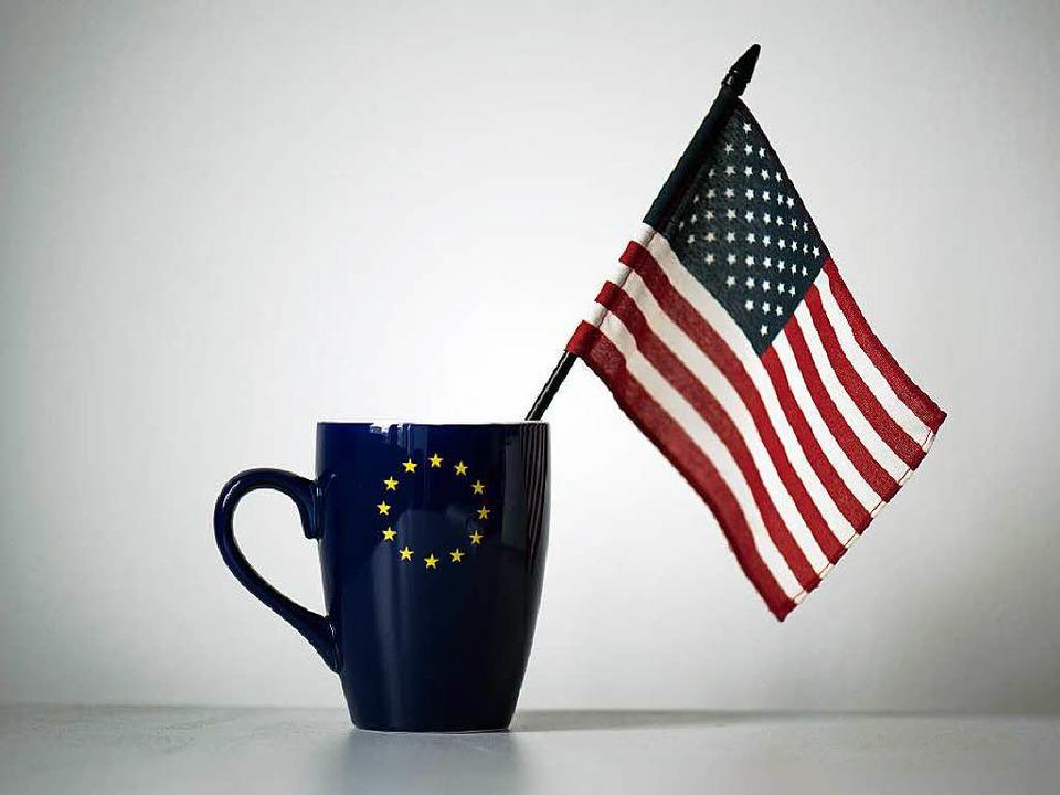Laut einem Geheimpapier wollen die EU ...m transatlantischen Handel abschaffen.  | Foto: dpa