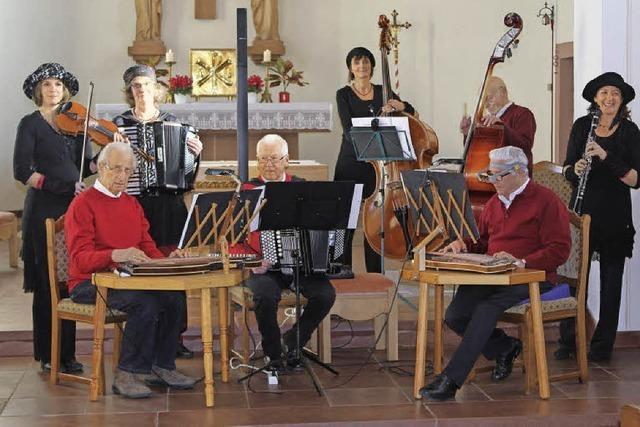 Viel Klang in der Kirche