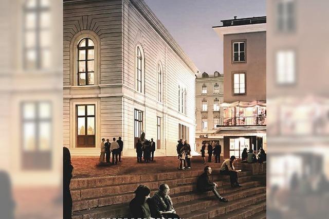 Stadtcasino wird umgebaut