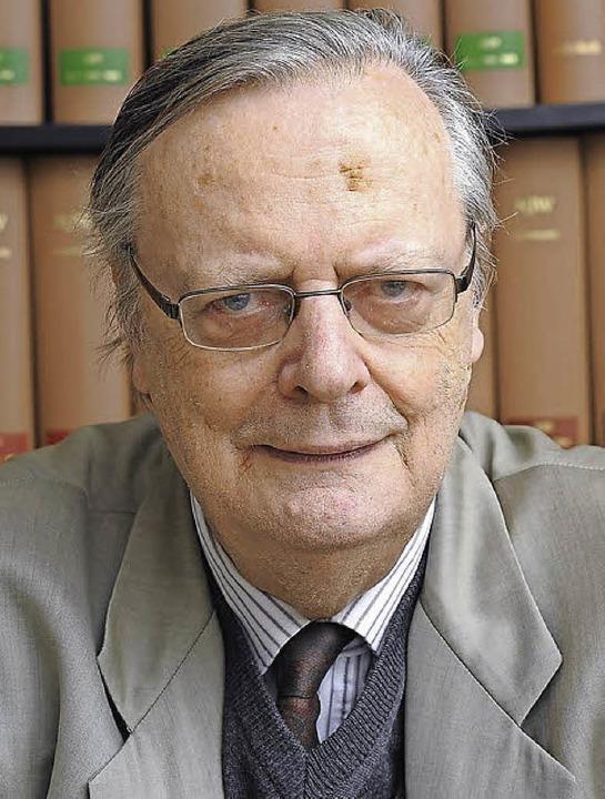 Albrecht Götz von Olenhusen  | Foto: Ingo Schneider