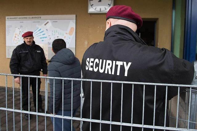 Security-Leute sind im Konfliktfall oft überfordert