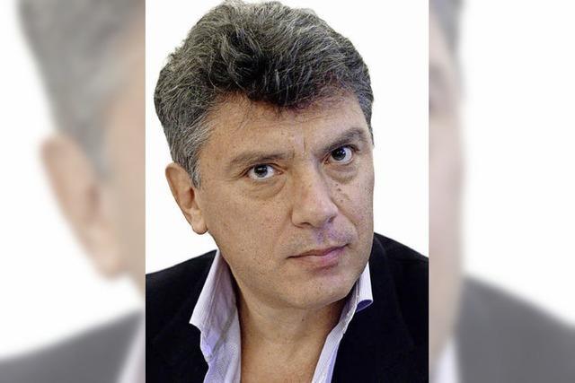 Oppositionelle gedenken des Mords an Boris Nemzow