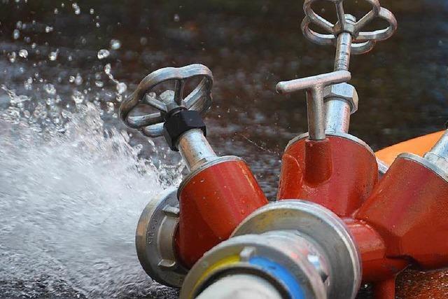 Löschwasser: Wittnau hat zu wenig Druck in Leitungen