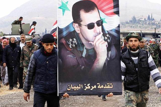 Syrische Regierung akzeptiert Waffenstillstand