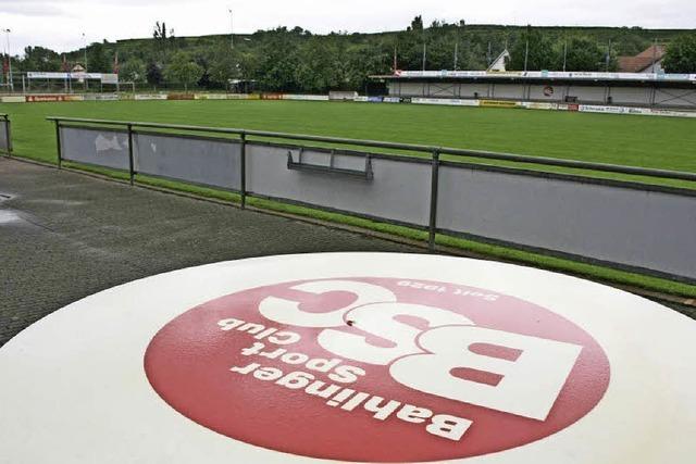 Bahlingen prüft Stadion-Neubau