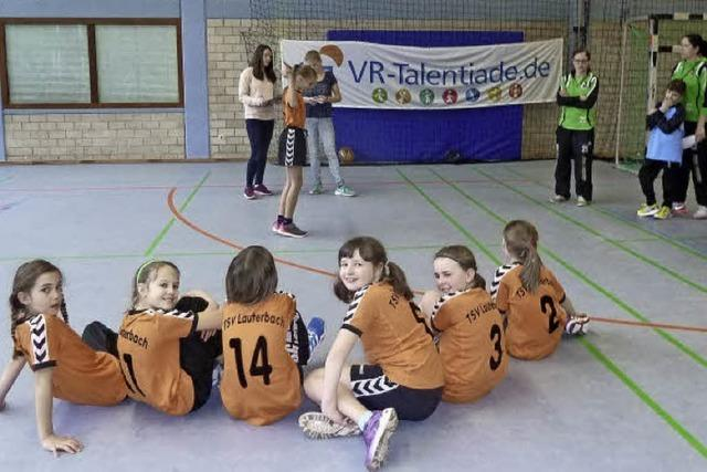 VR-Talentiade in der Region