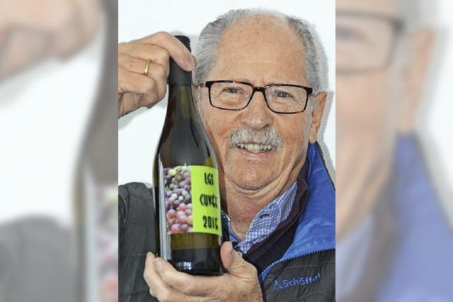 270 Flaschen eines ganz speziellen Weins