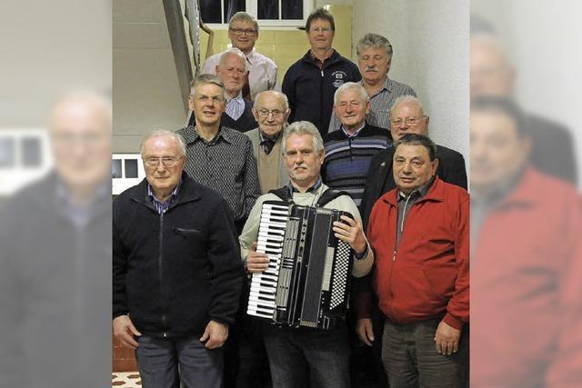 Die Harmonikafreunde feiern den 50. Geburtstag
