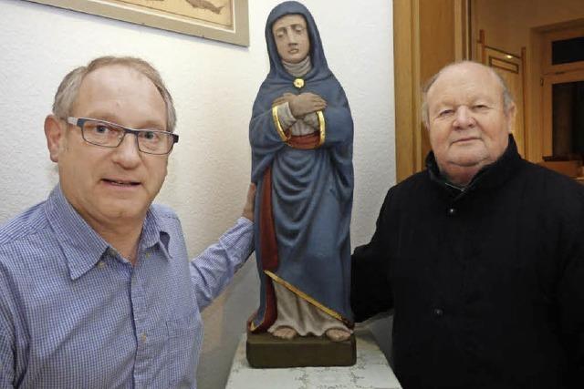 Marienfigur kehrt zurück