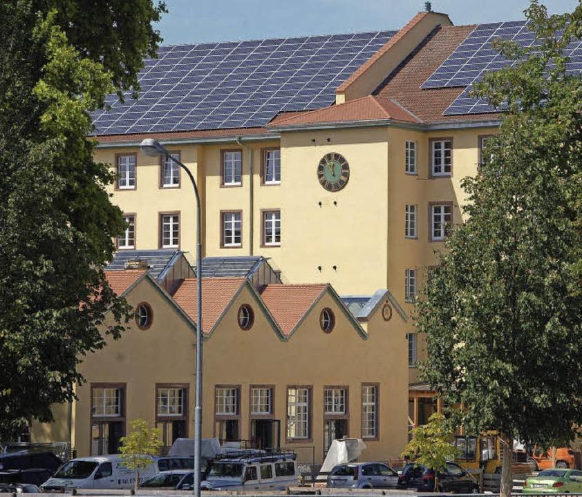 Um Industriekultur geht es in der näch...Umnutzung: Die alte Spinnerei Haagen.   | Foto: Sabine Ehrentreich