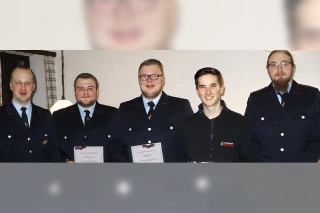 Feuerwehr Ewattingen wählt neue Vorstandsmitglieder