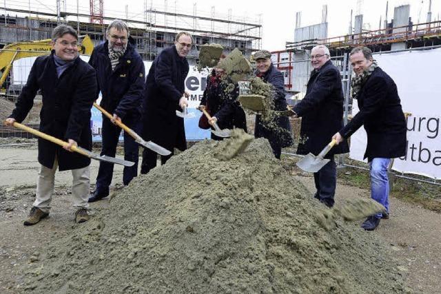 Stadtbau baut 40 Mietwohnungen auf dem Güterbahnhofareal - gefördert mit 6,8 Millionen Euro