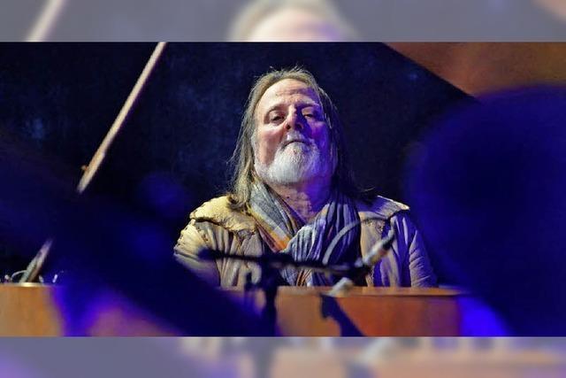 Der Jazzpianist Richie Beirach vor seinem Konzert in Freiburg
