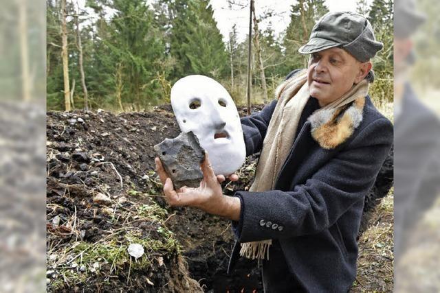 Totenmaske aus der Jungsteinzeit entdeckt