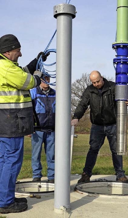 Die Stadtwerke  haben im Wasserwerk zw...k derzeit für 80000 Euro modernisiert.  | Foto: Stadtwerke