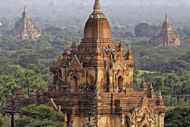Keine Kletterei mehr in Bagan