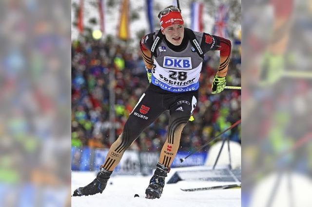Biathlet Benedikt Doll über seine Medaillenchancen bei der WM