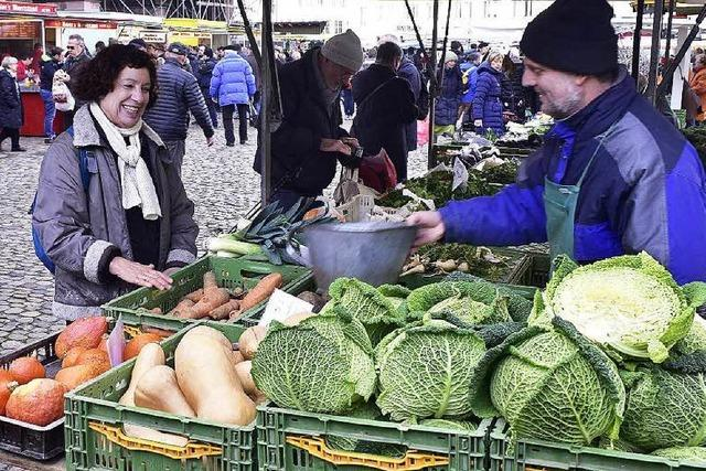 Eingelegtes sorgt im Februar für Artenvielfalt auf dem Münstermarkt