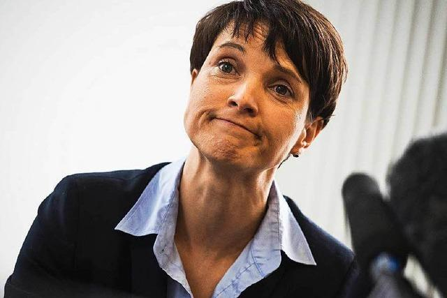 Breisacher Gemeinderat erklärt Frauke Petry zur unerwünschten Person