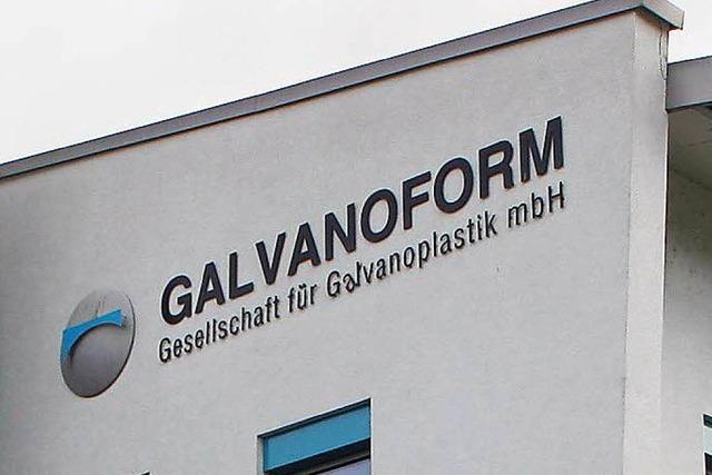 Giftiges Dioxin ist bei Firma Galvanoform entwichen