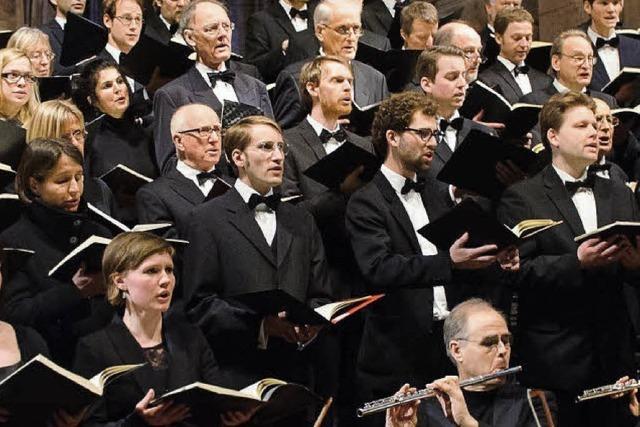 Der Freiburger Bachchor mit Bachs Matthäus-Passion im Münster und im Konzerthaus