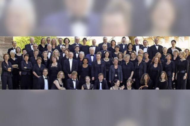 Das Vocalensemble Breisach mit einer Schubertiade in Breisach und Freiburg