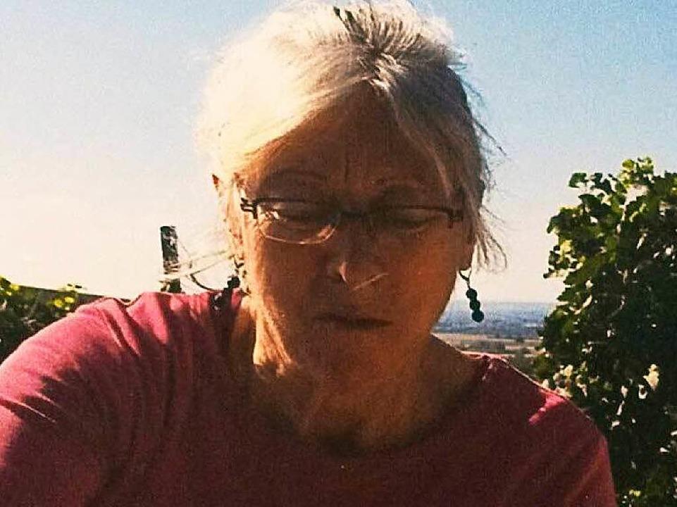 Gertrud Neumann-Scott trägt ihre Haare...u. Dieses Foto wurde 2015 aufgenommen.    Foto: Privat/Polizei Freiburg