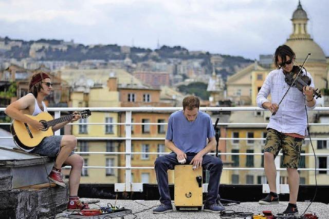 Gypsy Fusion -Trio The Trouble Notes mit