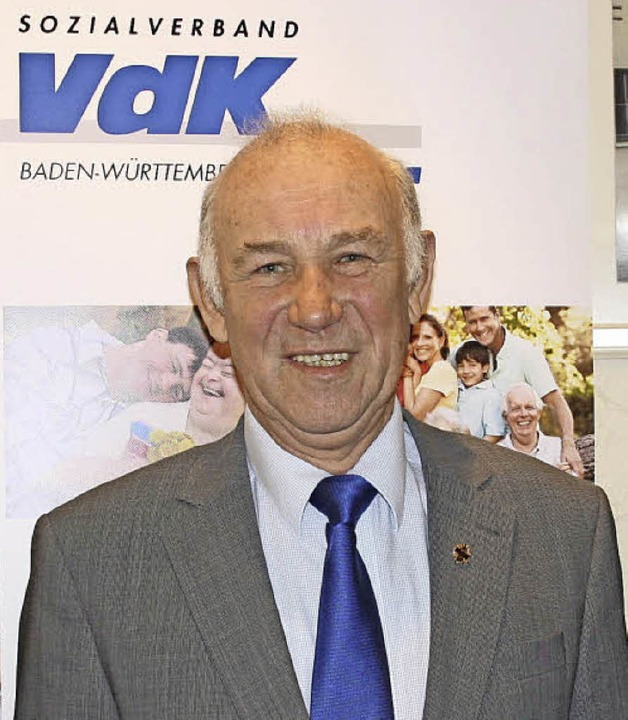 Wilfried Jenny ist seit 50 Jahren beim VdK dabei.   | Foto: Ch. Franz