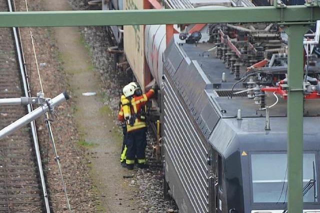 Bahn gibt Strecke nach Gefahrgutalarm wieder frei