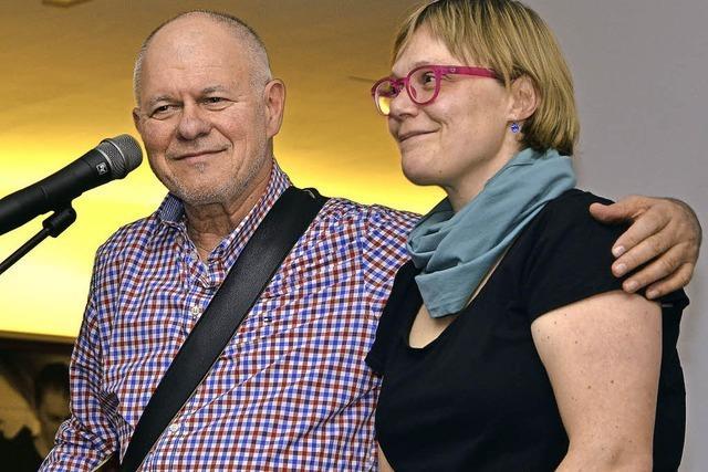 Ulrike Derndinger und Heinz Siebold in Niederweiler