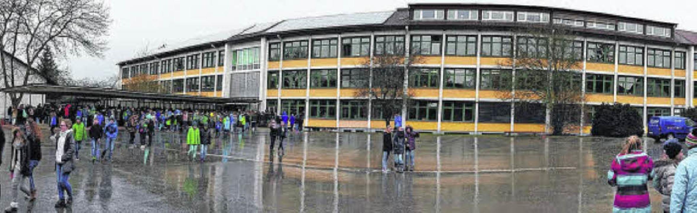 Das Gebäude der Donaueschinger Realsch...e pädagogische Konzeption diskutiert.     Foto: Günter Vollmer