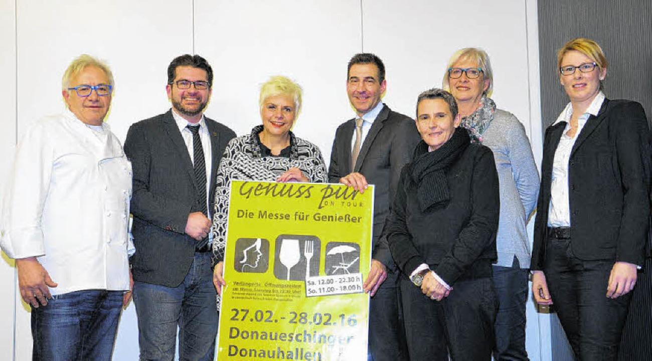 Sie freuen sich auf die zweite Auflage... und Hallenmanagerin Eva-Maria Hirt.      Foto: J. Müller
