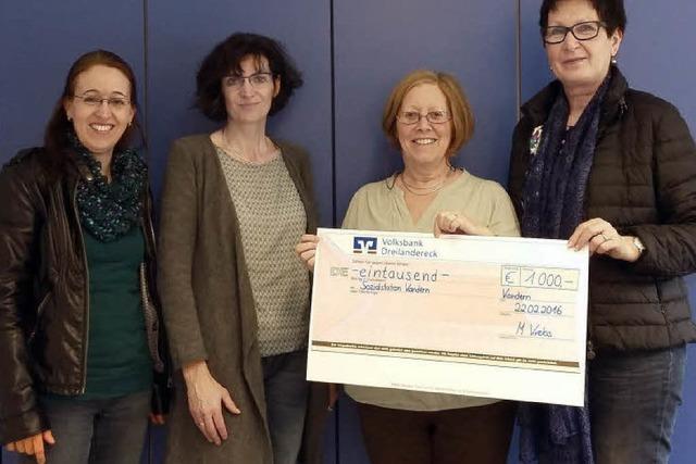 1000 Euro für Sozialstation