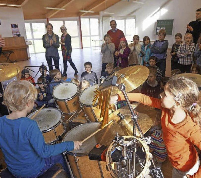 Auch in Wittnau fand das Angebot des Musikvereins großen Zuspruch.  | Foto: Anne Freyer
