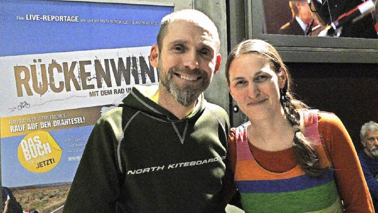 Charmante Erzähler: Anita Burgholzer und Andreas Hübl     Foto: Martina David-Wenk