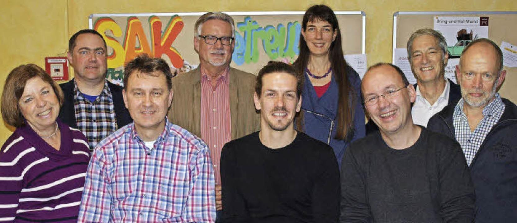 Im Team des  Fördervereins: Ellen Walt...  Bernhard Werner, Thomas Waldhecker.   | Foto: Paul Schleer