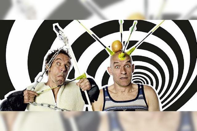 Das Komiker-Duo Oropax tritt in Denzlingen auf