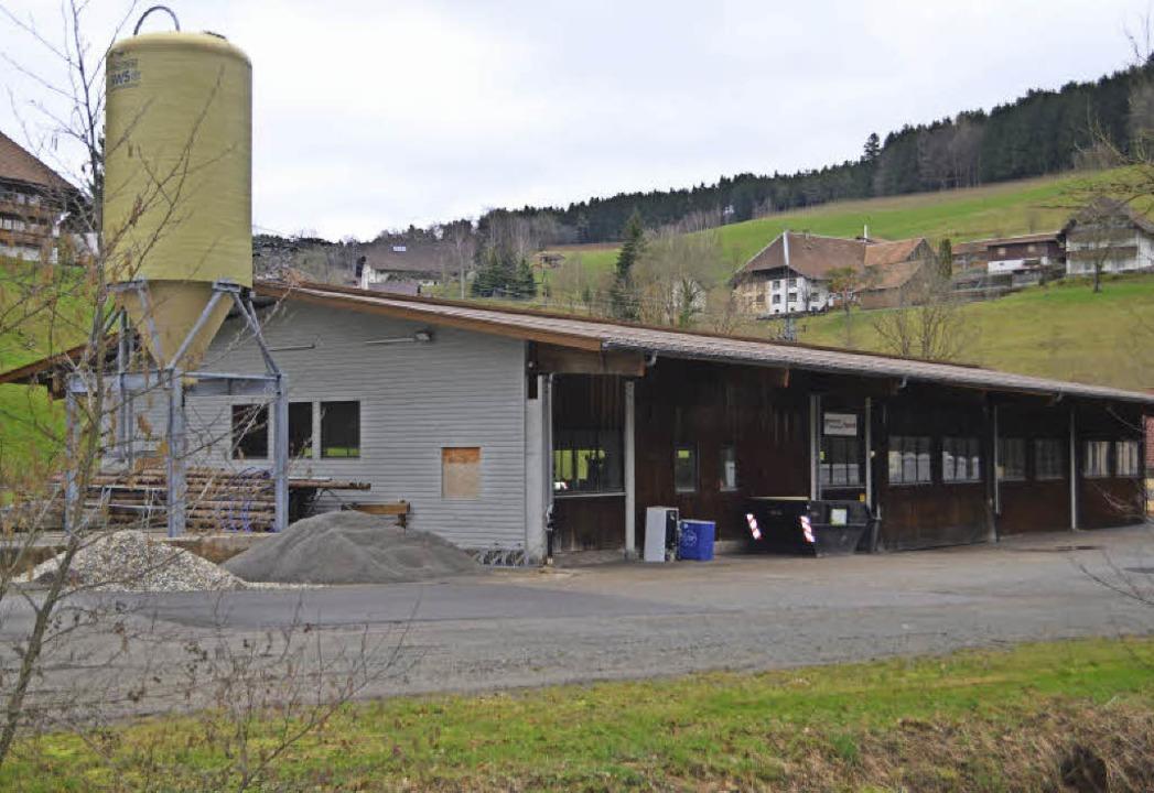 Biederbachs Bauhof an der Finstermühle.     Foto: Nikolaus Bayer